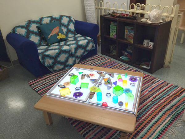 Infant play room at Rainbow Valley