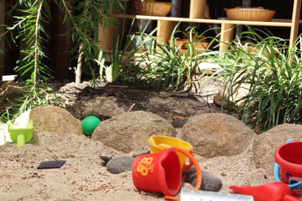 Infant outdoor play area
