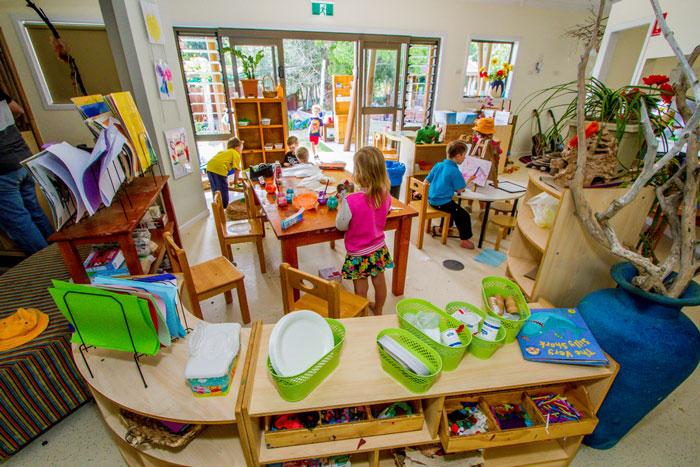 Rainbow Valley Kindergarten room