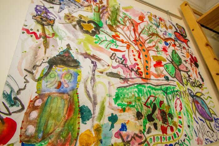 Rainbow Valley Kindergarten childrens painting