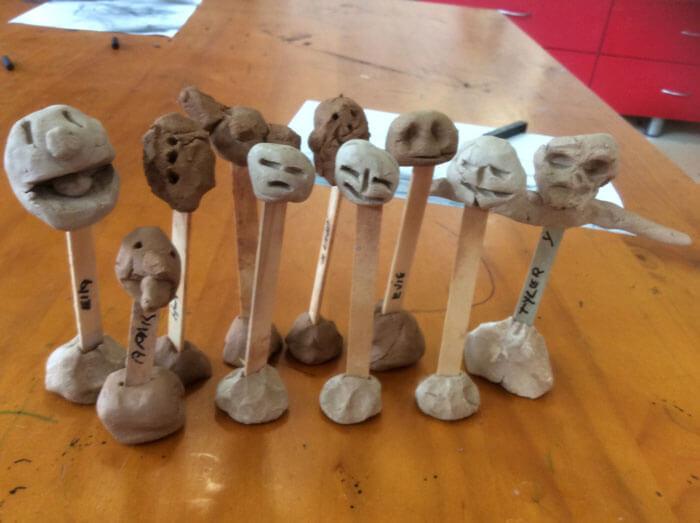 art and craft at Rainbow Valley Kindergarten