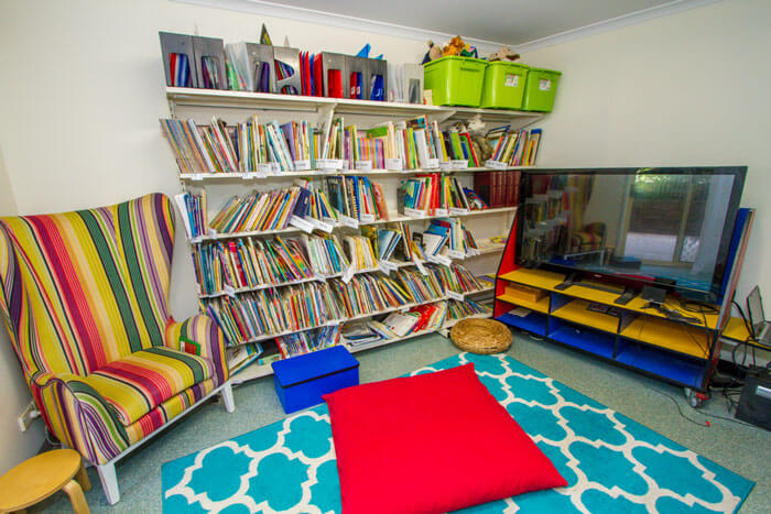 Rainbow Vallery Kindergarten library
