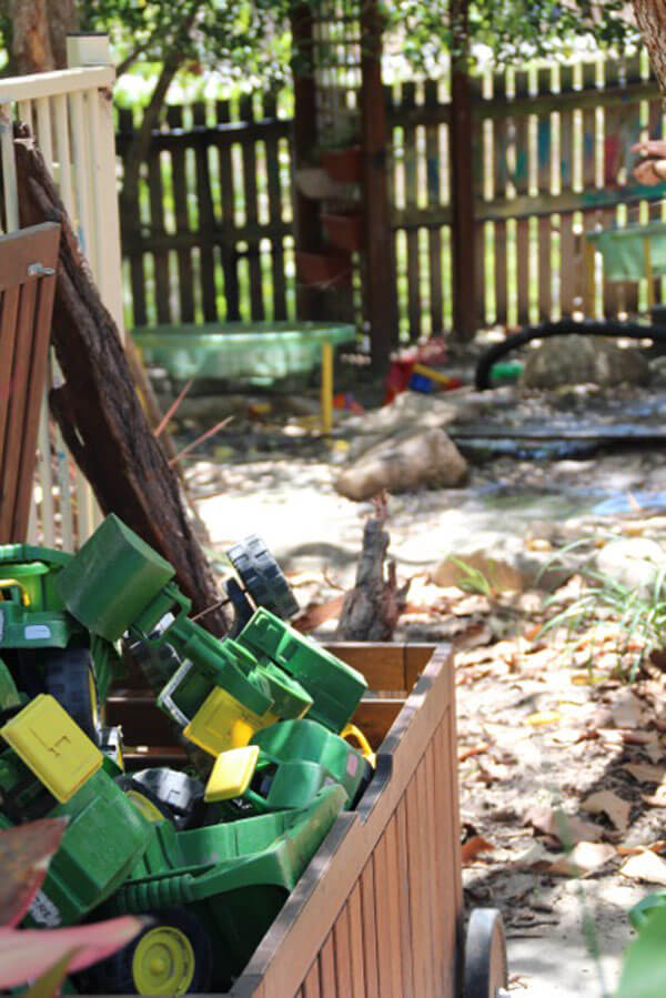 Rainbow Valley Toddler outside play area